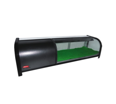Fleetwood SDC-60 60-in Sushi Display Case w/ Sliding Rear Glass Doors