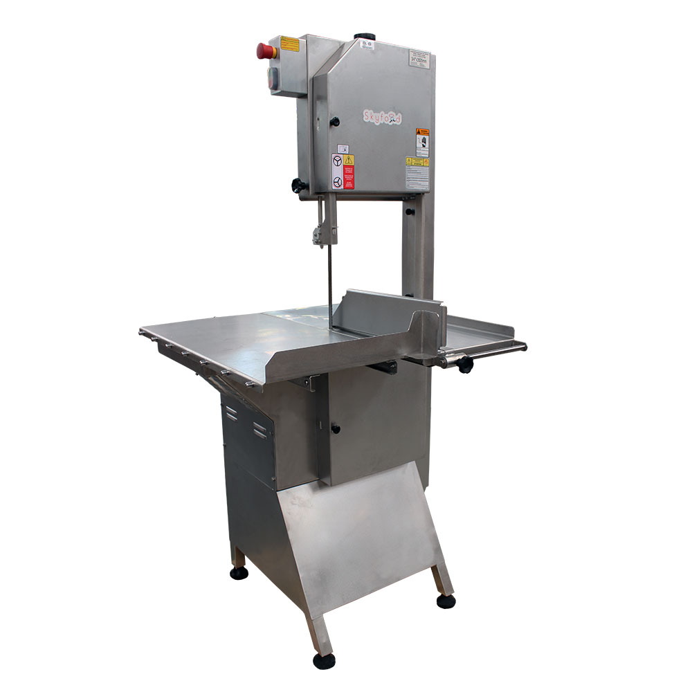 Fleetwood SI-282HDE-2 Heavy Duty Floor Model Meat & Bone Saw w/ 112-in Blade, 2000-lb/1-Hr Production, 220/3V
