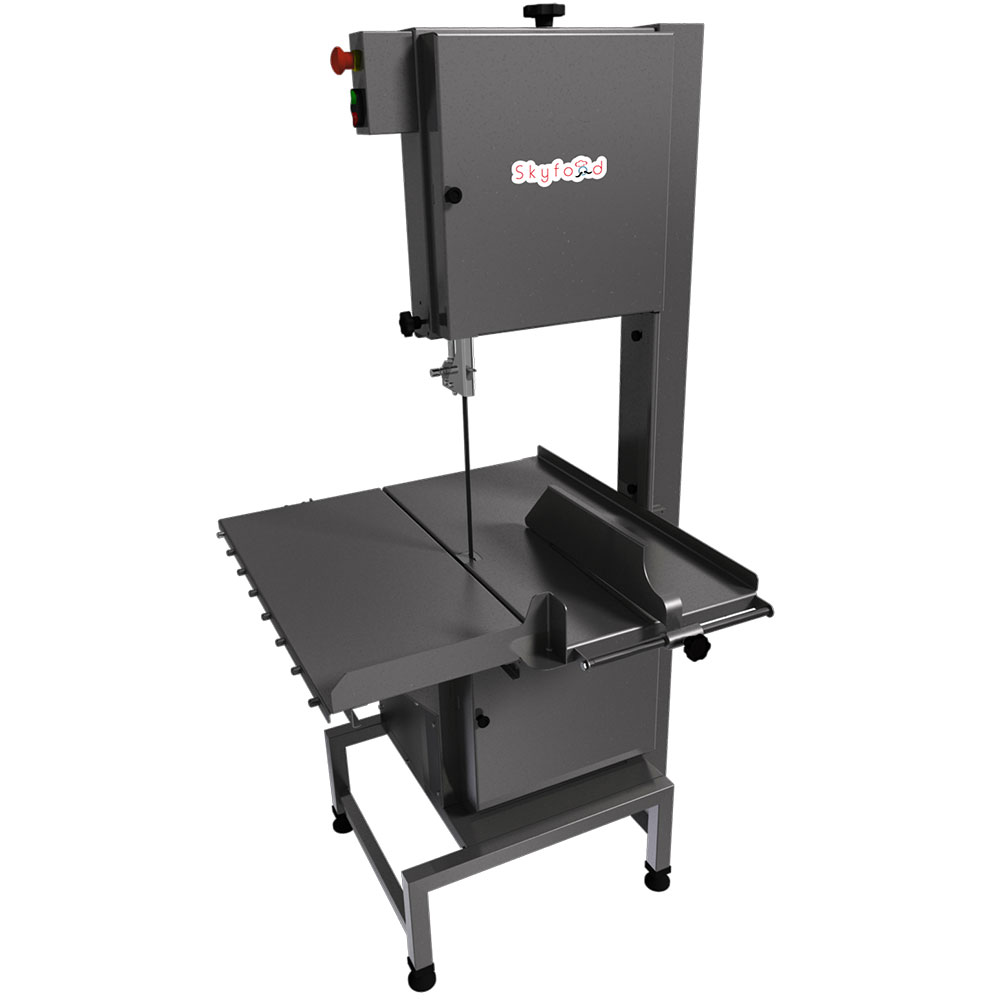 Fleetwood SI-315HDE-2 Heavy Duty Floor Model Meat & Bone Saw w/ 126-in Blade, 16-in Cutting Clearance, 220/3V