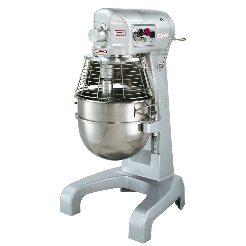 Fleetwood SPM30 110V 30-qt Table Top Planetary Mixer w/ 3-Speed, 110