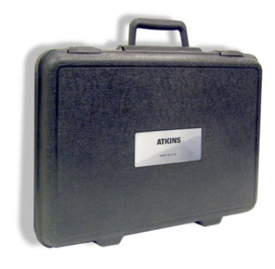 Cooper Instrument 14245-1 Hard Carrying Case w/ Label, 12 x 17 x 3.5-in