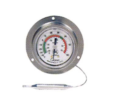 Cooper Instrument 6812-01-3 2-in Panel Type Thermometer w/ Back Flange, -40 To 60-Degrees F