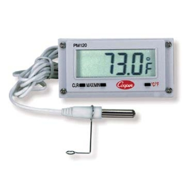 Cooper Instrument PM120-0-8 Digital Type Mini Remote Thermometer w/ 39-in Sensor rod