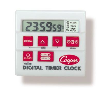 Cooper Instrument TC6-0-8 Digital Timer / Clock / Stopwatch, 24
