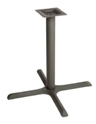 Oak Street Mfg B36-STD Dining Height Table Base w