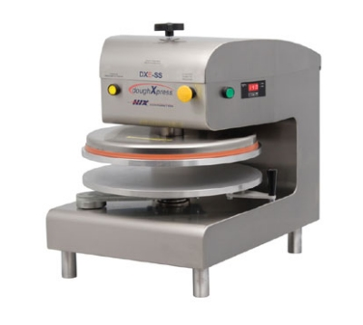 DoughXpress DXE-WH Electro-Mechanical Pizza Dough Press w/ Uncoated Platens, 120 V