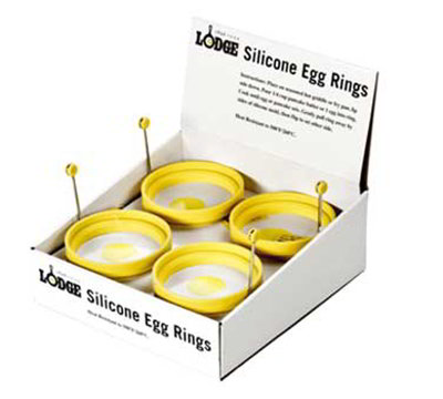 Lodge ASER 4-in Silicone Egg Ring, Yellow