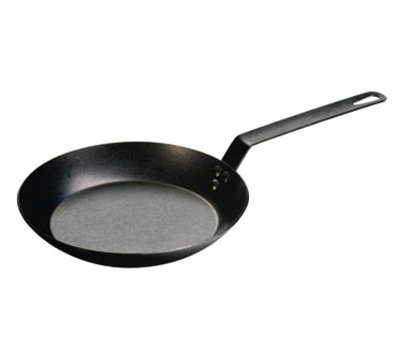 Lodge CRS10 10-in High Heat Seasoned Skillet w/ 3-Steel Rivets