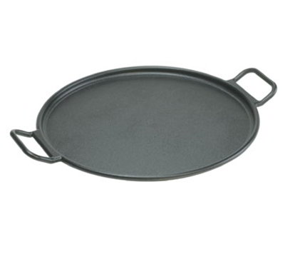 Lodge P14P3 14-in Round Cast Iron Seasoned Pizza Pan w/ Rolled Edges & Recipe Card