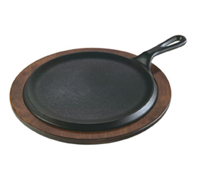 Lodge L8NG3 9-in Round Cast Iron New Style Griddle