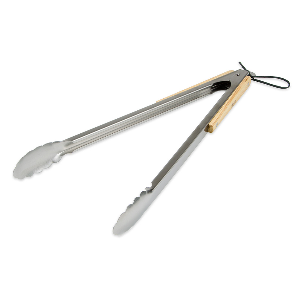 """Lodge OTONG 19"""" Utility Grilling Tongs - Stainless"""