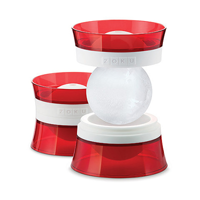 ZOKU ZK118 Stackable Ice Ball Molds