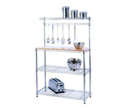 Focus 31454 Baker's Rack Kit, Chrome Plated, 14 in D x 36 in W x 54 in H