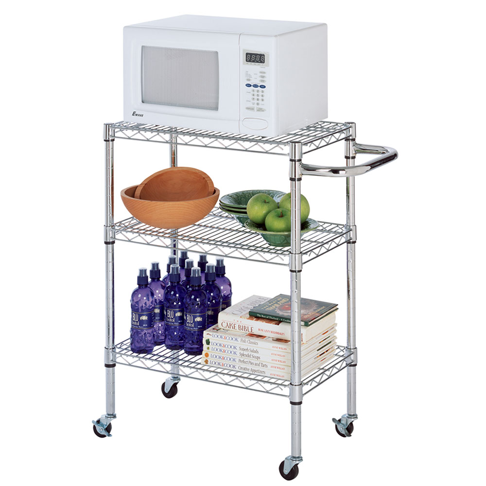 Focus 34458 Kitchen Cart Kit, Chrome Plated, 13-1/2 in x 23-1