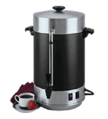 Focus 58101R 101 Cup Commercial Aluminum Coffeemaker, Black Satin Exterior
