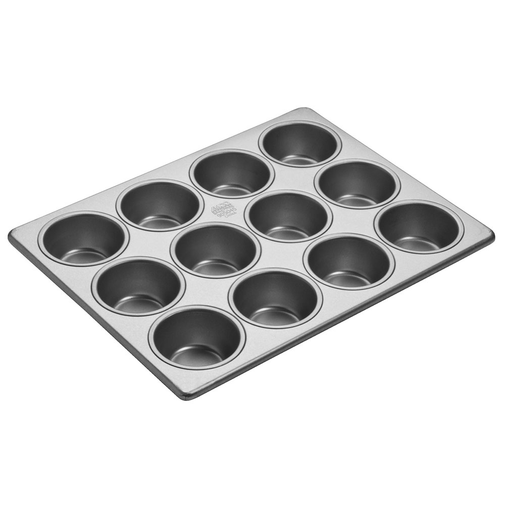 Focus 905045 Cupcake Pan, Holds (12) 2-3/4 in dia. Cupcakes