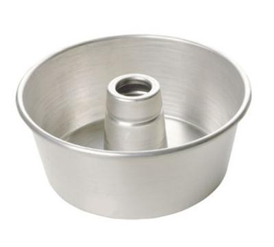 Focus 906560 Rolled Edge Angel Food/Tube Cake Pan, 3-3/4-in Deep, Aluminum