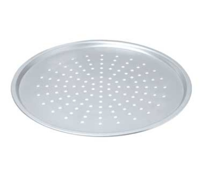 Focus 949014 14-in Pizza Pan Crisper w/ Raised Edge, Perforated, Plain