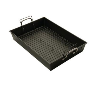 Focus 969917 Roast Pan w/ Handles & Rack, 17