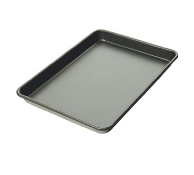 Focus 900854 Half Size Sheet Pan, 18 Gauge Aluminum, Non-Stick, 13 x 18 in