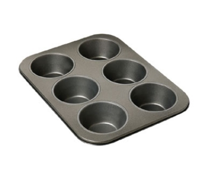 Focus 969669 Non-Stick Giant Muffin Pan Aluminized Steel Restaurant Supply