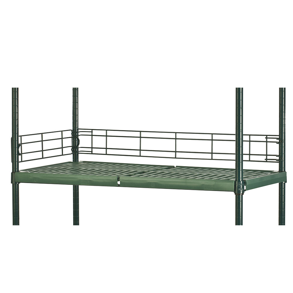 Focus FBL304FPS Shelving Ledge, Green Epoxy,