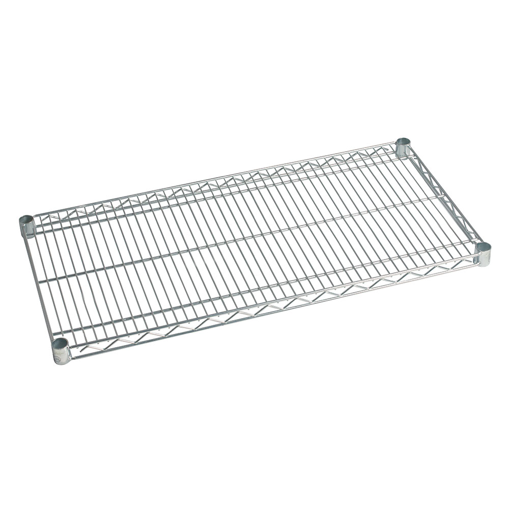 Focus FF2442C Chrome Plated Shelving, 24 in D x 42 in W