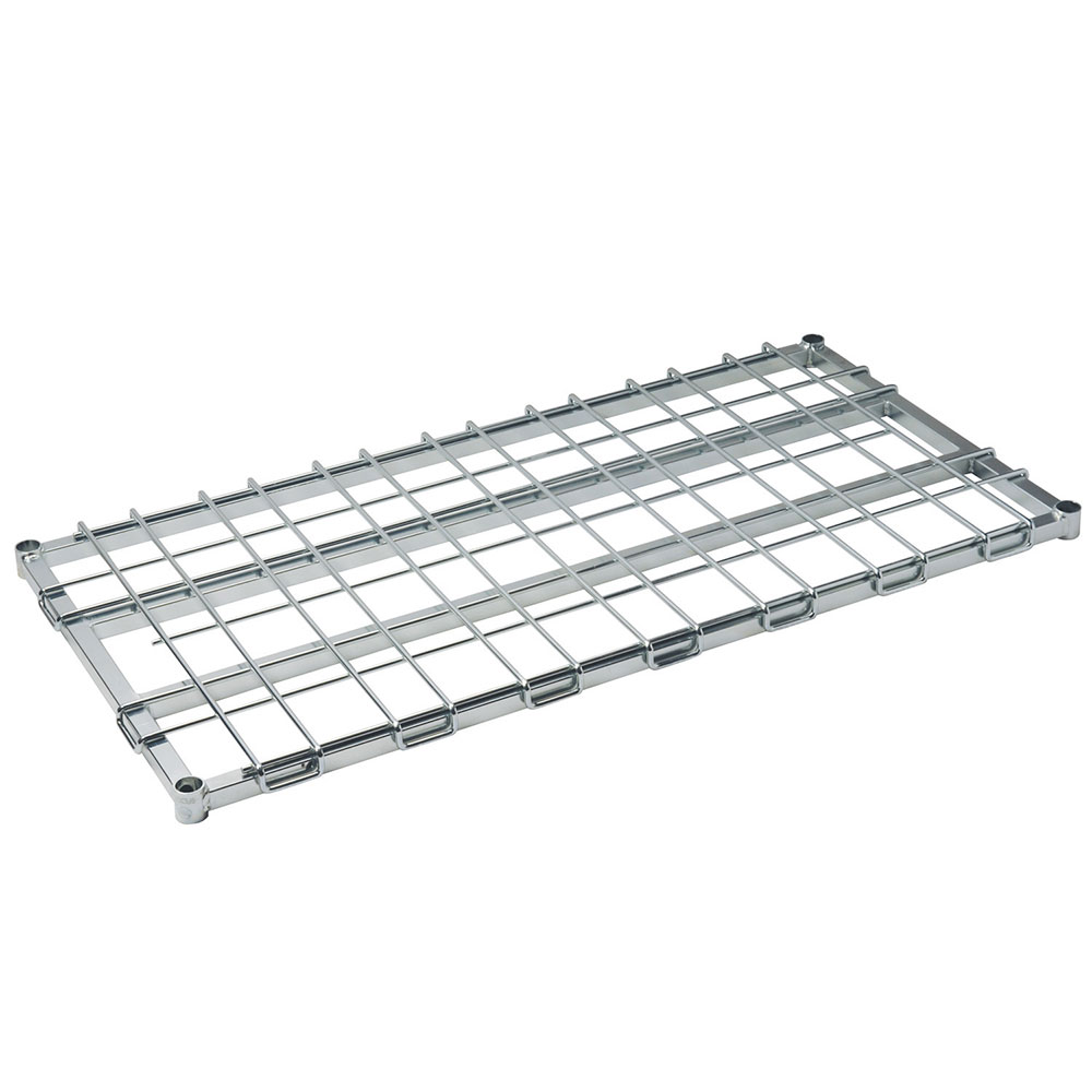 Focus FFSM1836CH Dunnage Shelf 18 in W x 36 in L, Heavy Duty, Chrome