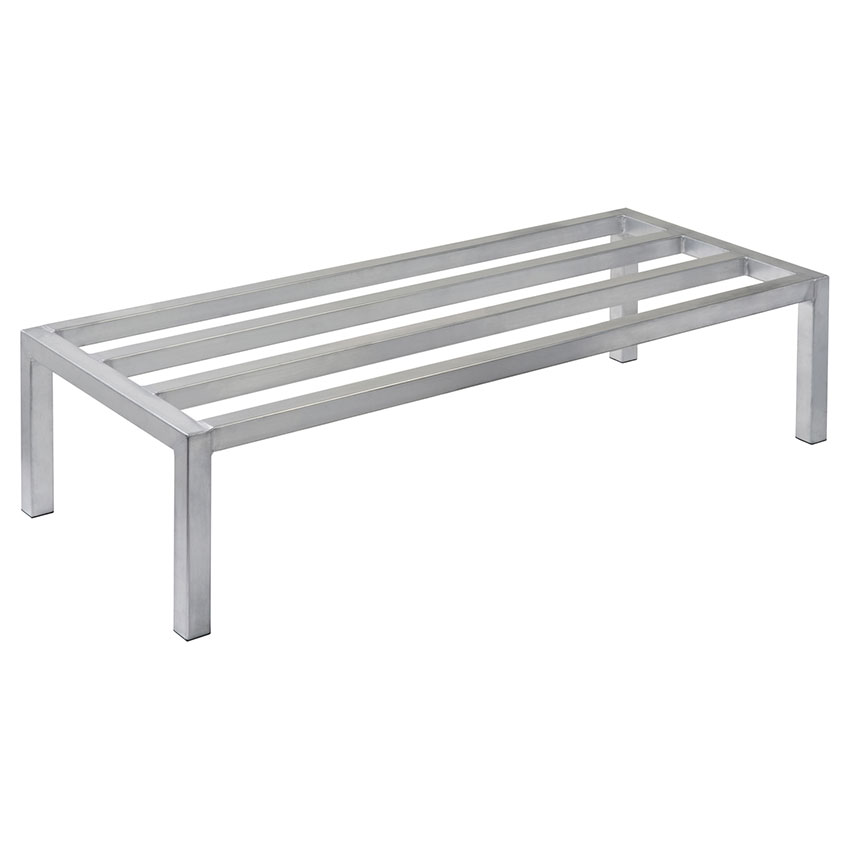 Focus FHADR481812 Heavy Duty Dunnage Rack, 4 Support Bars, Welded Seams, 48 x 18 x 12 in