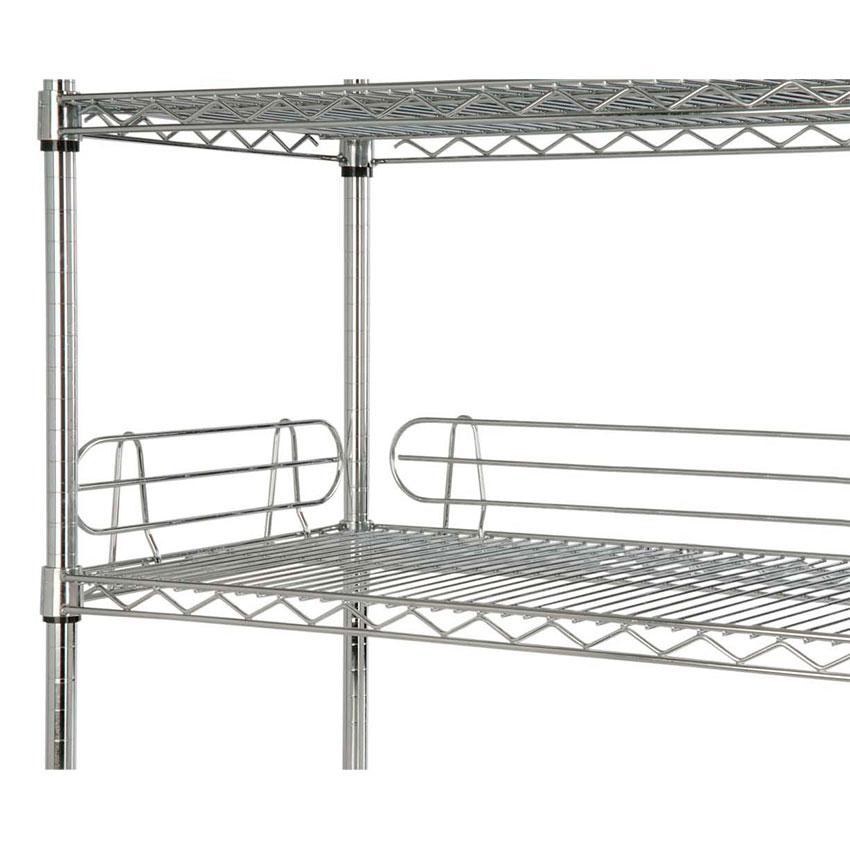 Focus FL184C Shelf Ledges, Chrome 18 in W x 4 in H
