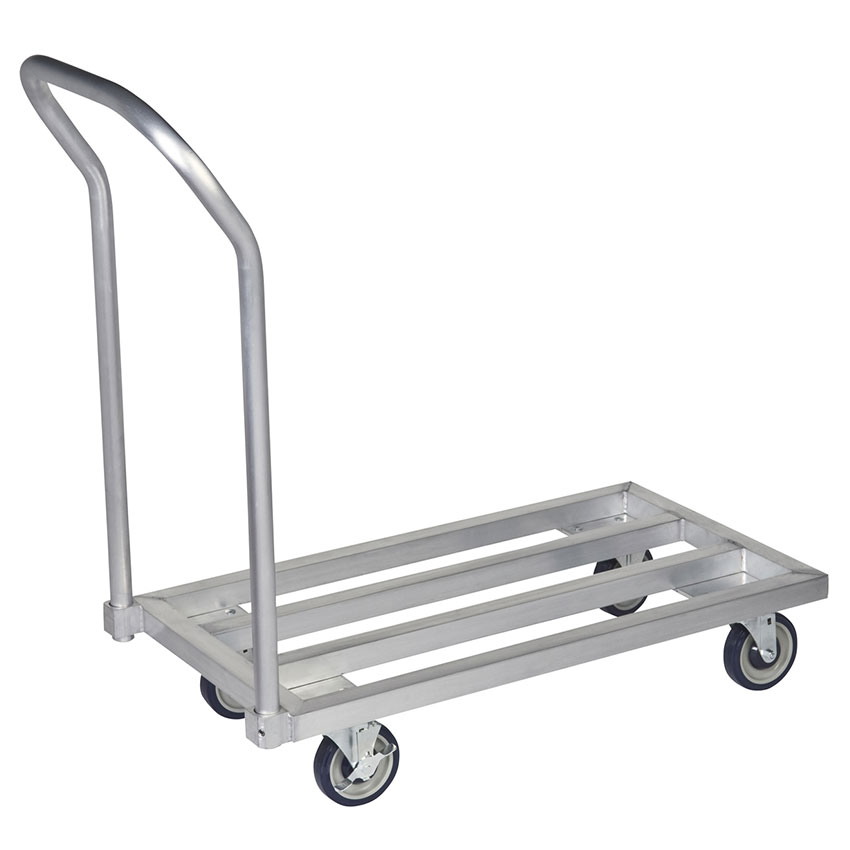 Focus FMADR3624 36-in Welded Aluminum Mobile Dunnage Rack, 24-in Deep