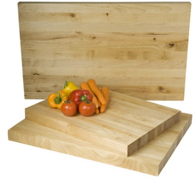 Focus 8935 Butcher Block Cutting Board, 20 x 15 x 1-3/4