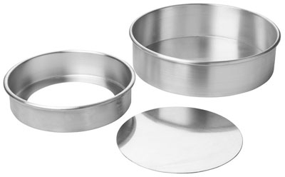 Focus 90ACC103 Rolled Edge Cheesecake Pan, Removable Bottom, Aluminum, 1