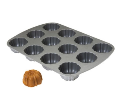 Focus 952837 Non-Stick Muffin Pan 3 Rows Of 4 12 Openings Restaurant Supply