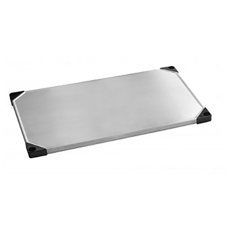 Focus FF2436SSS Solid Stainless Shelf, 24 x 36-in