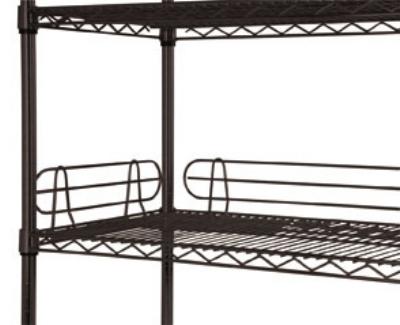 Focus FL604BK Black Epoxy Shelf Ledge, 60 x 4