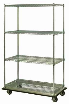 Focus FST244863CH Wire Shelf Truck w/ 63-in S