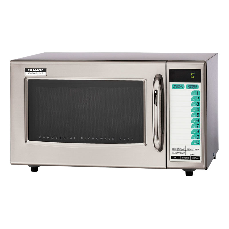 Sharp R21LTF Microwave Oven, Light Duty, 3-Stage Programming, SelectaPower,