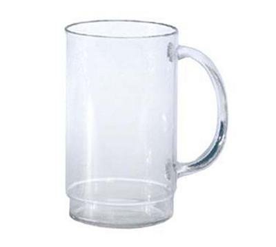 GET 00083-CL 20 oz. Beer Mug, SAN Plastic, Clear