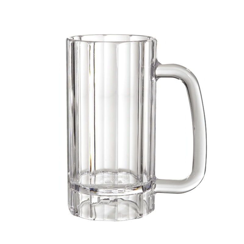 GET 00087-PC-CL 20 oz Beer Mug, Polycarbonate, Clear