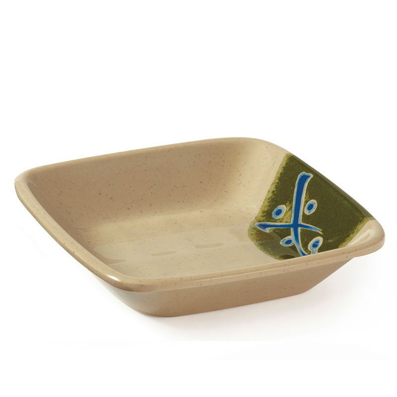 GET 035-TD 4 in x 4 in Side Dish, Melamine, Japanese Traditional