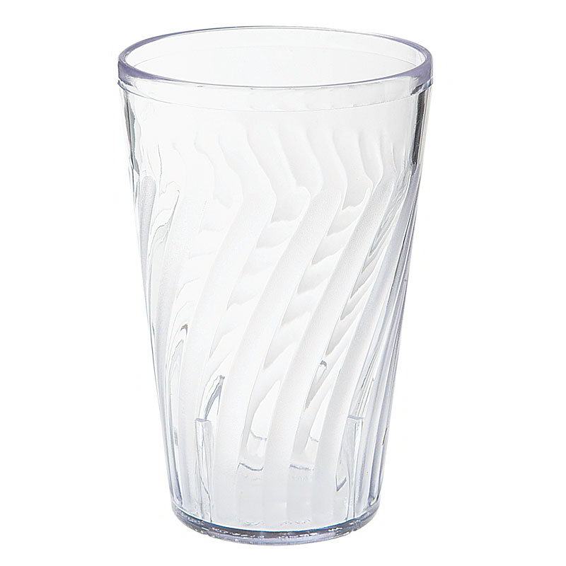 GET 2212-1-CL 12 oz Healthcare Tumbler, 5 in Tall, Clear