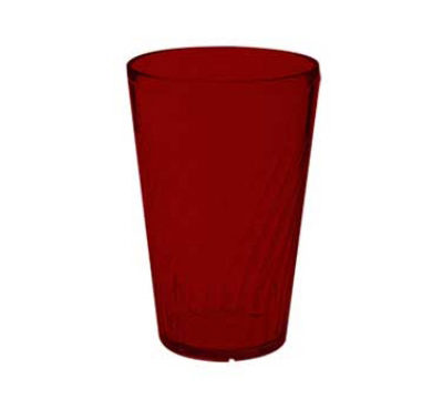 GET 2212-1-R 12 oz Healthcare Tumbler, 5 in Tall, Red
