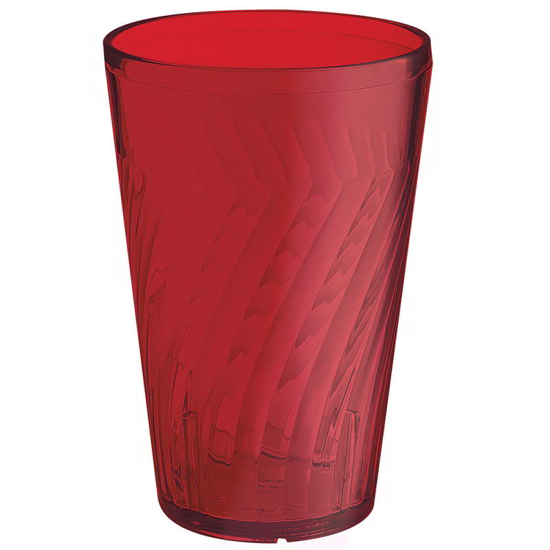 GET 2216-1-R 16-oz Tahiti Textured Beverage Tumbler, Red