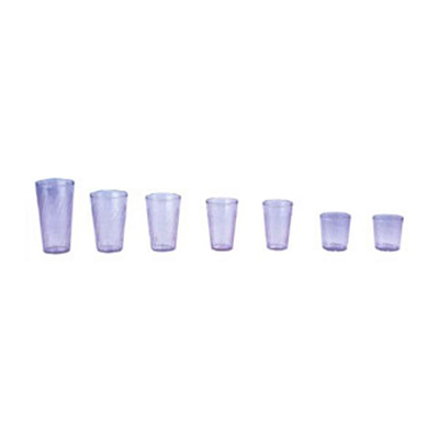 GET Enterprises 2224-BLU 24 oz Beverage Tumbler Textured Tahiti Blue Restaurant Supply
