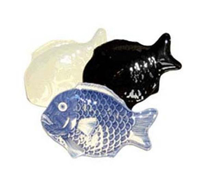 GET 370-10-BK 10 in x 7 in Fish Pla