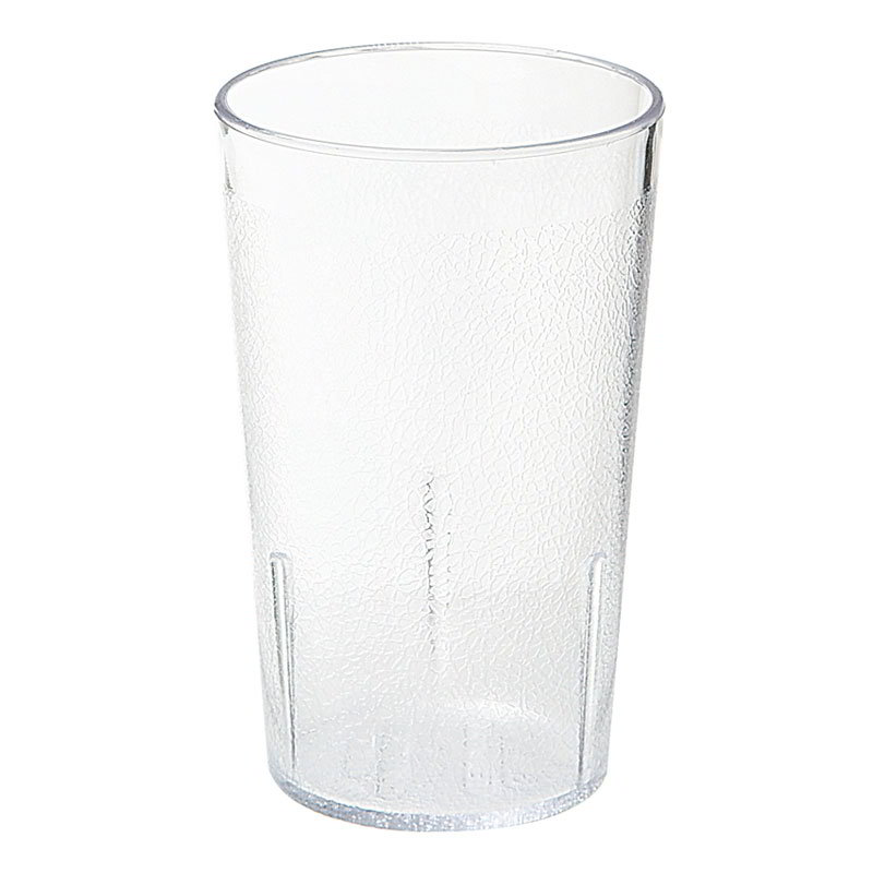 G.E.T 6605-6-CL 5 oz Tumbler Textured Stackable Clear Restaurant Supply
