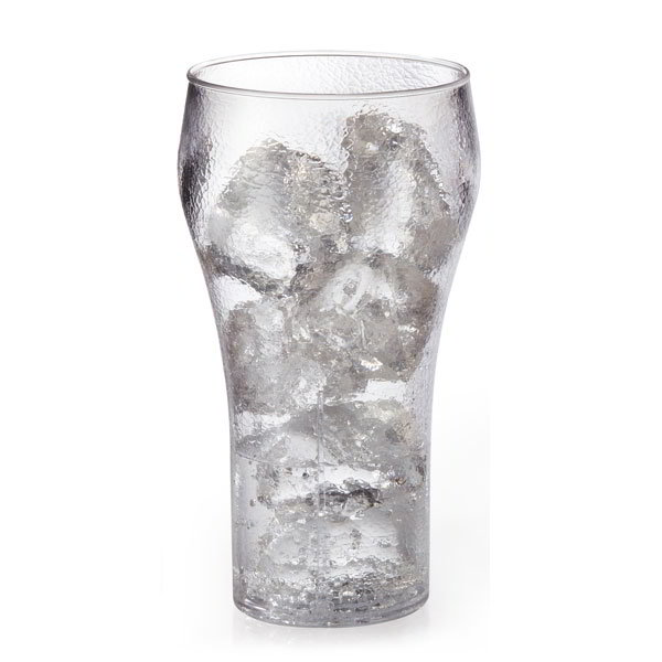 GET 7716-1-CL 16-oz Bell Tumbler, Clear