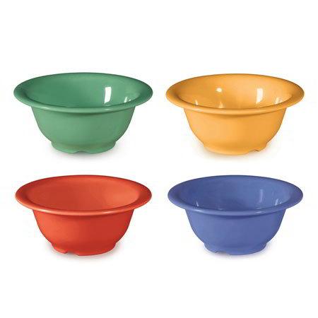 GET B-105-MIX 10 oz Bowl, 5-3/8 in, Melamine, Mardi Gras