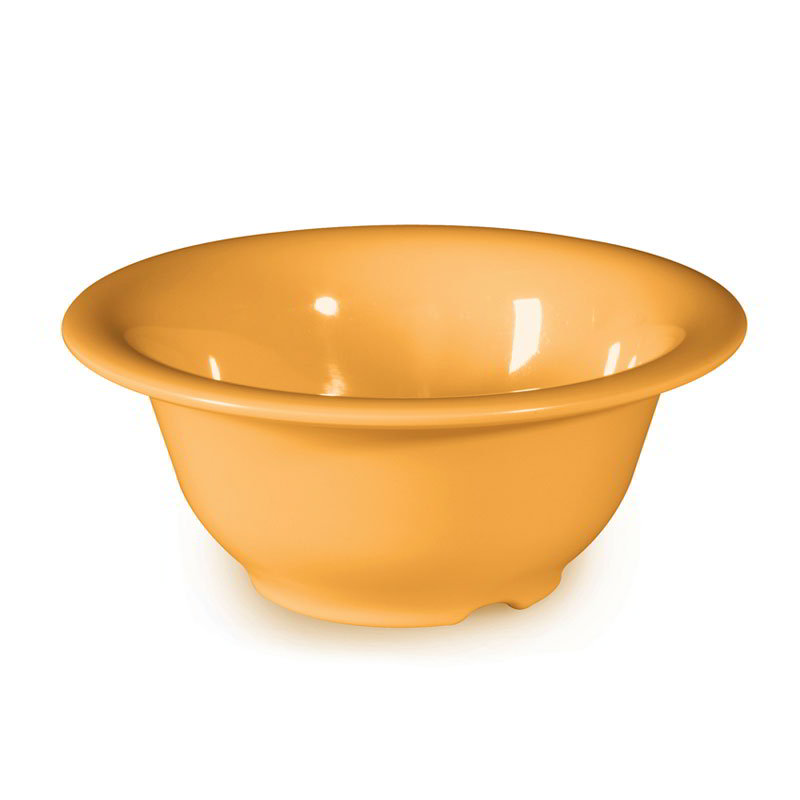 GET B-105-TY 10 oz Bowl, 5-3/8 in, Melamine, Tropical Yellow
